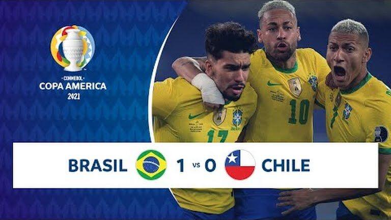 ویدیو| خلاصه بازی برزیل ۱-۰ شیلی