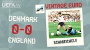 ویدیو  دیدار خاطره انگیز انگلیس و دانمارک در یورو ۱۹۹۲