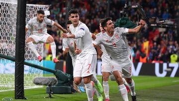 ویدیو  گل تساوی اسپانیا مقابل ایتالیا توسط موراتا