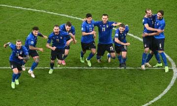 ویدیو  خلاصه بازی ایتالیا ۱ (۴)-(۲) ۱ اسپانیا/ برتری آتزوری در ضرباتپنالتی نفسگیر