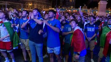 ویدیو  شادی صعود هواداران آتزوری در خیابان های ایتالیا