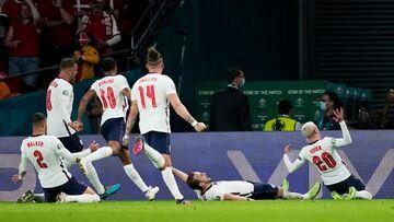 ویدیو  خلاصه بازی انگلیس ۲-۱ دانمارک