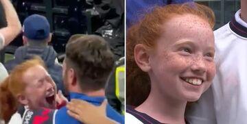 تصاویر  لحظه پراحساس در یورو/ اشکهای این کودک انگلیسی ...