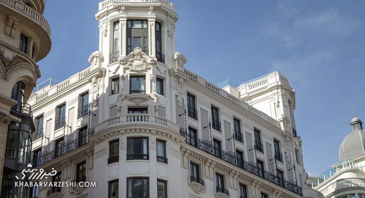 هتل رونالدو (پستانا CR7) در مادرید