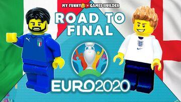 ویدیو  پلهپله تا فینال یورو ۲۰۲۰ به روایت لگوها