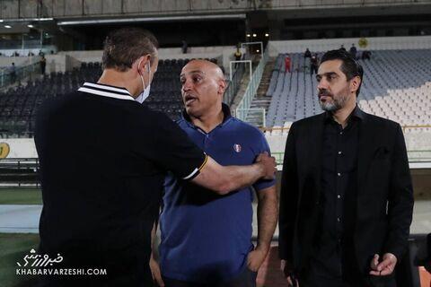 افشین پیروانی، یحیی گلمحمدی و علیرضا منصوریان؛ پرسپولیس - آلومینیوم