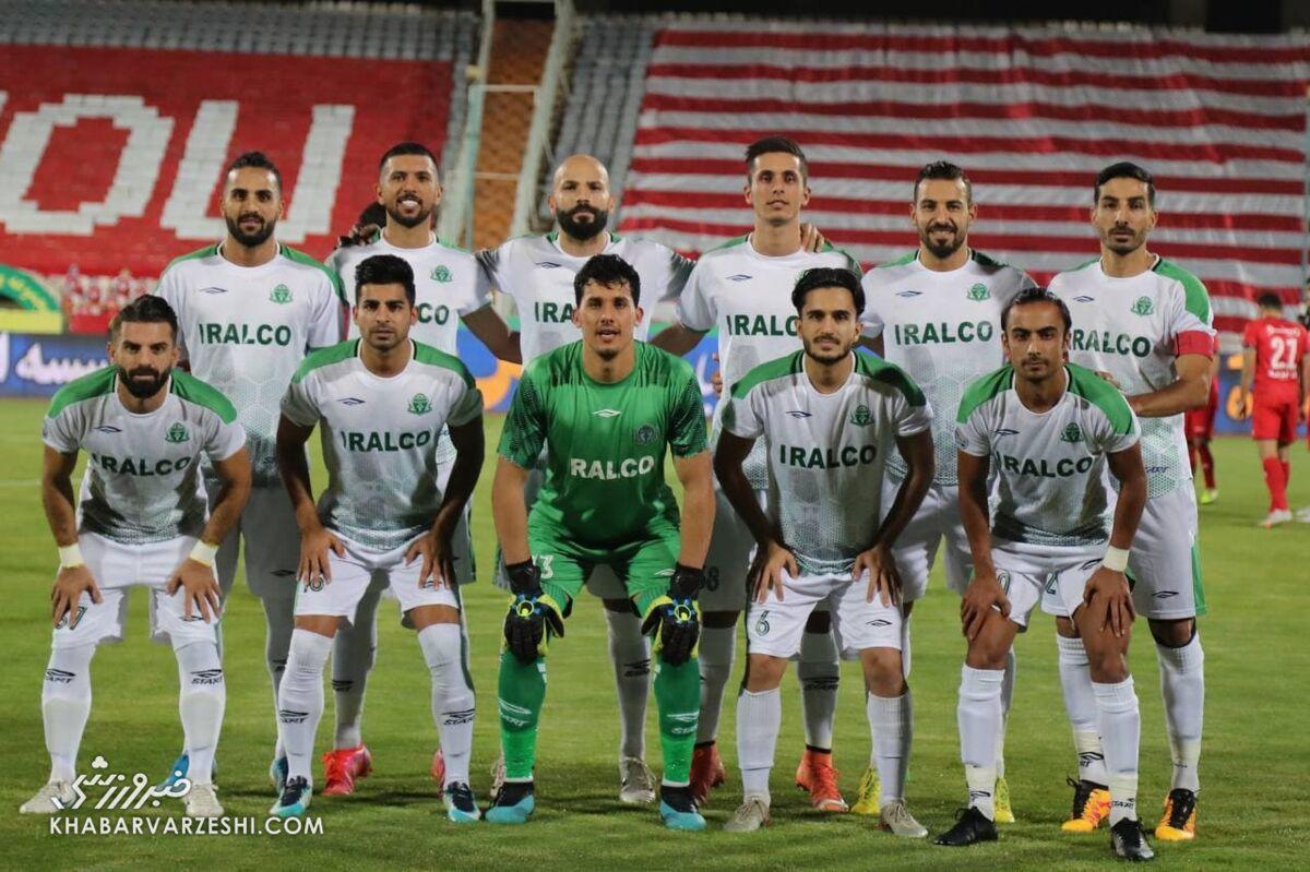 عکس تیمی آلومینیوم؛ پرسپولیس - آلومینیوم