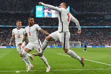 اولین گل تاریخ انگلیس در فینال یورو/ سریعترین گل فینالها
