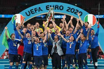 ویدیو  جشن قهرمانی ایتالیا در یورو ۲۰۲۰