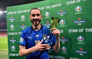 بونوچی فرشته ایتالیا در فینال یورو ۲۰۲۰