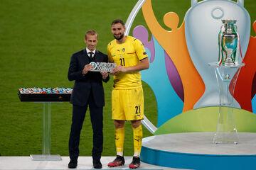 دوناروما بهترین بازیکن یورو ۲۰۲۰ شد
