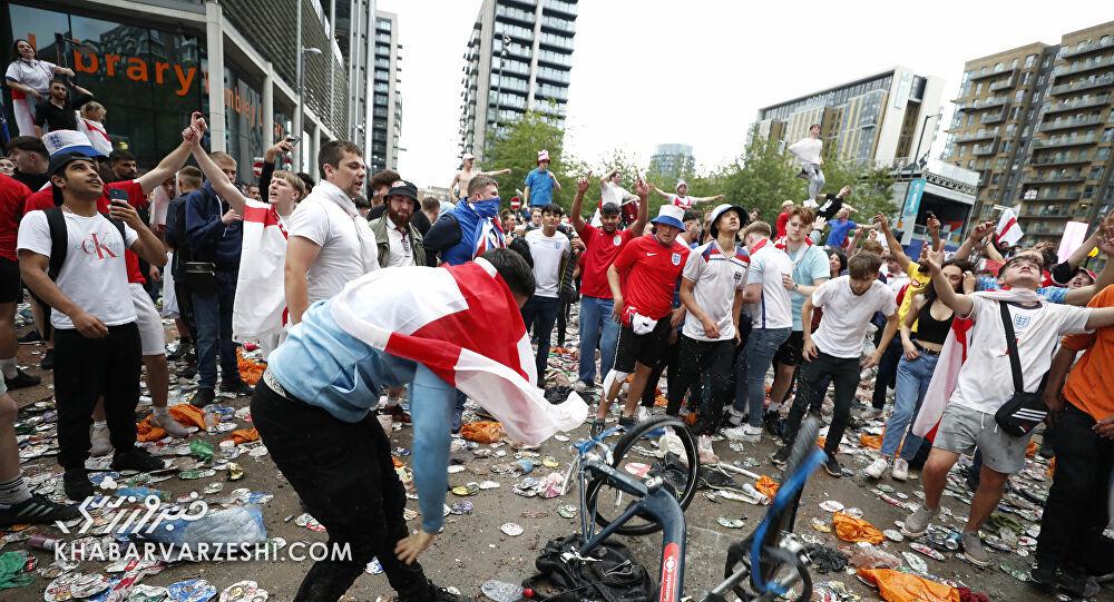 دو تصویر زشت از یورو ۲۰۲۰/ فاجعه ای که رسانه های ایرانی هم باید ببینند