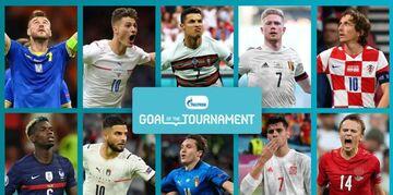 ویدیو  نامزدهای کسب عنوان بهترین گل رقابت های یورو ۲۰۲۰