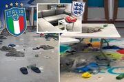 تصاویری از فاجعه قهرمان یورو ۲۰۲۰ در ومبلی/ تفاوت رختکن انگلیس و ایتالیا