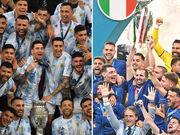 دیدار دوستانه ایتالیا و آرژانتین به یاد مارادونا