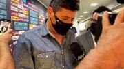 ویدیو| ورود علیرضا فغانی به ورزشگاه آزادی