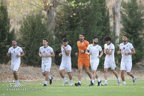 تمرین استقلال (25 تیر 1400)