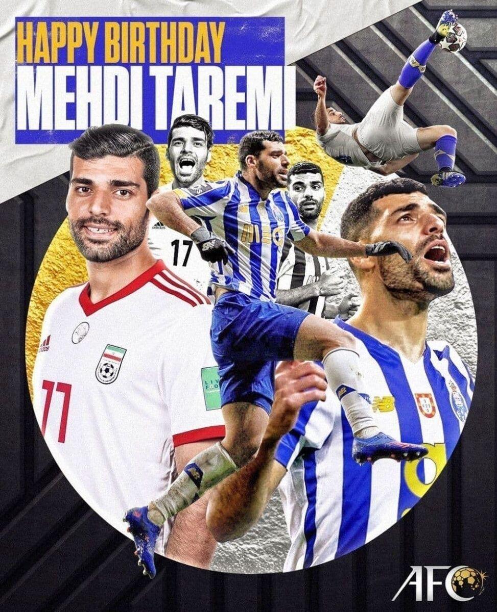 پیام AFC برای تولد ستاره ایرانی/ او ماشین گلزنی است