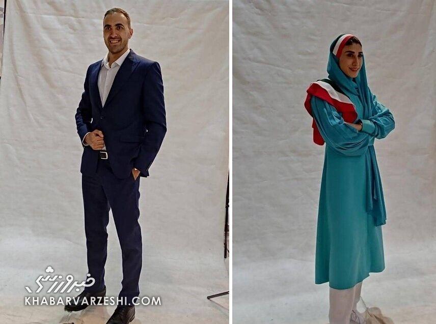 لباس کاروان ایران در المپیک ۲۰۲۰