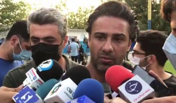 ویدیو| فرهاد مجیدی: اگر یک بازیکن جدا شود در استقلال نمی مانم