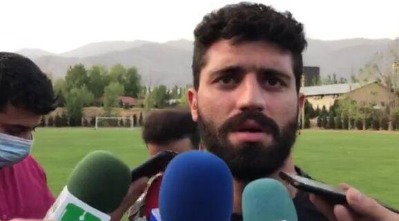 ویدیو  واکنش محمد دانشگر به قرارداد با تراکتور