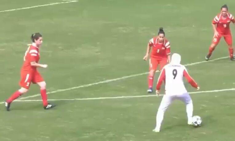 ویدیو  تمجید AFC از تکنیک بالای زهرا قنبری کاپیتان تیم فوتبال زنان ایران