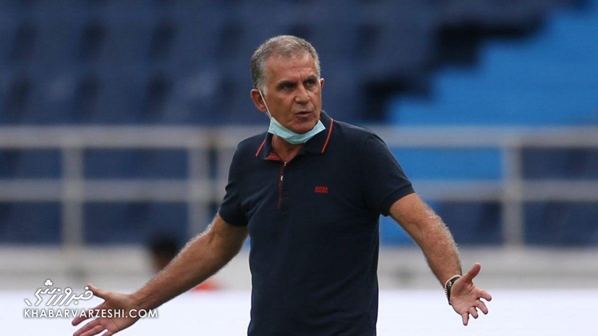 ویدیو  حضور کیروش در تیم ملی عراق منتفی شد