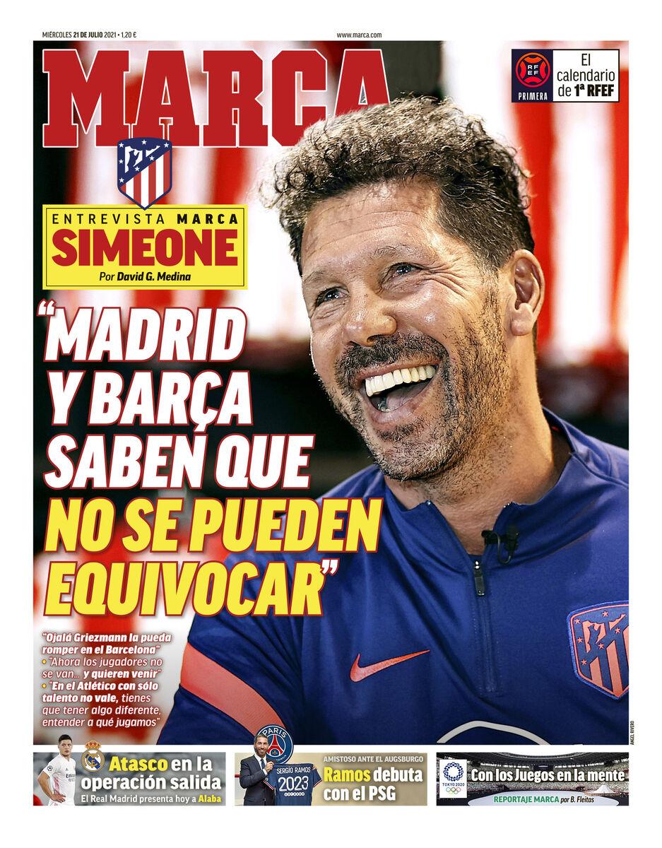 روزنامه مارکا  مادرید و بارسلونا میدانند نمیتوانند اشتباه کنند