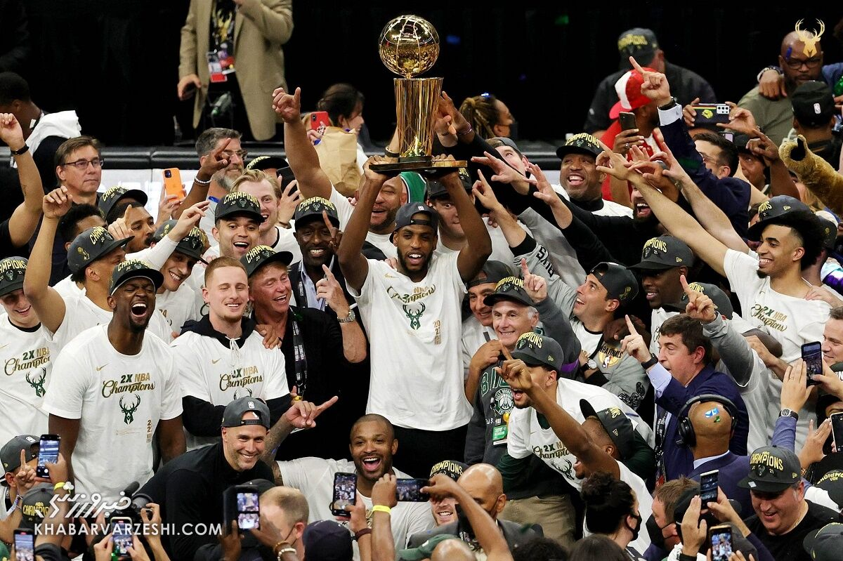 قهرمانی میلواکی پس از ۵۰ سال در NBA