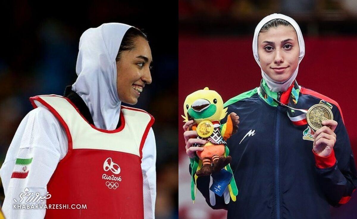 ناهید کیانی - کیمیا علیزاده - المپیک ۲۰۲۰ توکیو