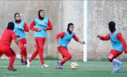عکس  ملیپوشان ایرانی با لباس سپاهان تمرین کردند!