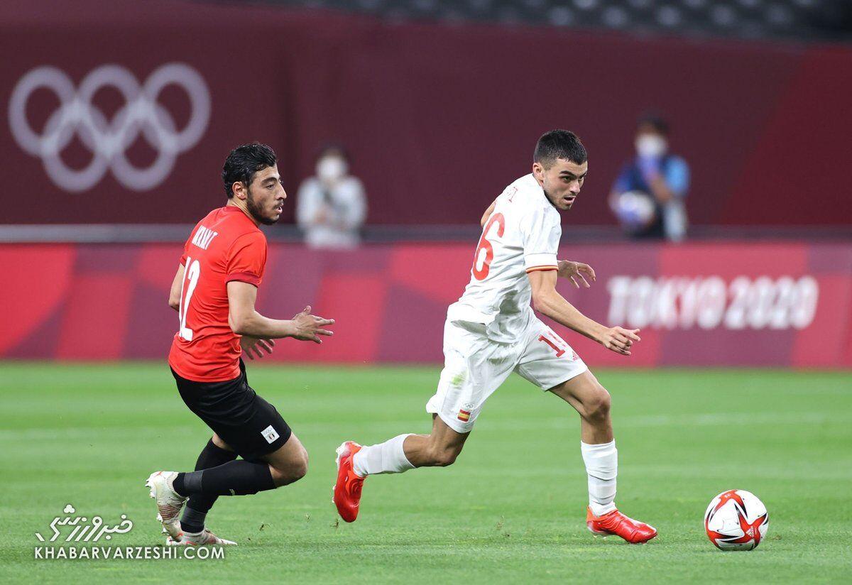مصر - اسپانیا (المپیک ۲۰۲۰)