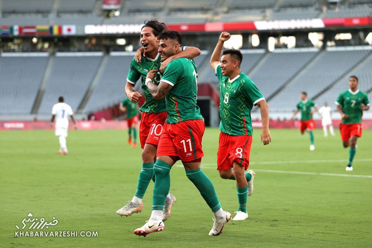 مکزیک - فرانسه (المپیک ۲۰۲۰)