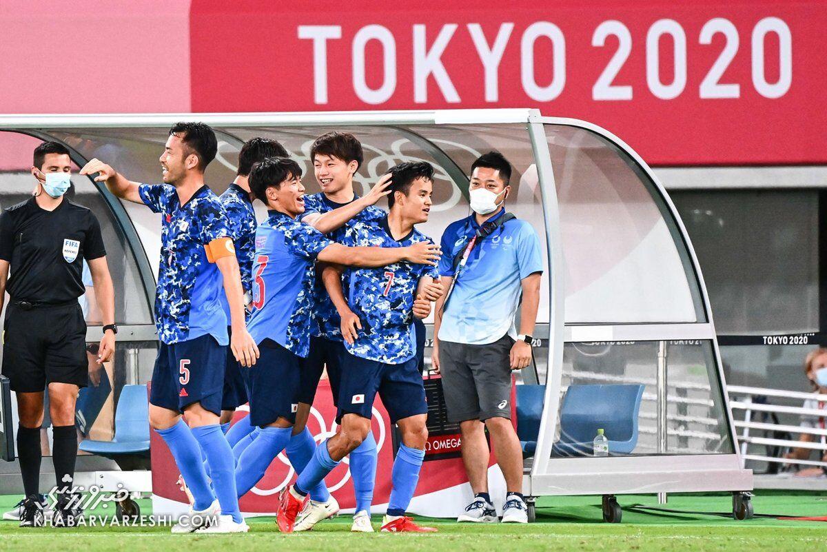ژاپن - آفریقایجنوبی (المپیک 2020)