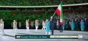 ویدیو| رژه کاروان ایران در افتتاحیه المپیک توکیو
