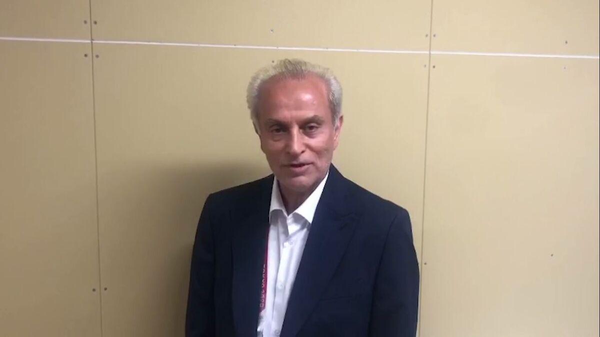 ویدیو  توضیحات سرپرست کاروان ایران از مراسم افتتاحیه المپیک