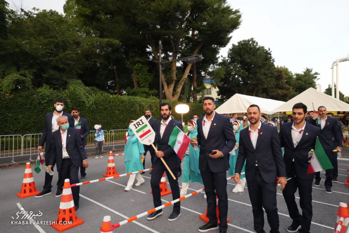 یک استقلالی پرچمدار کاروان ایران بود