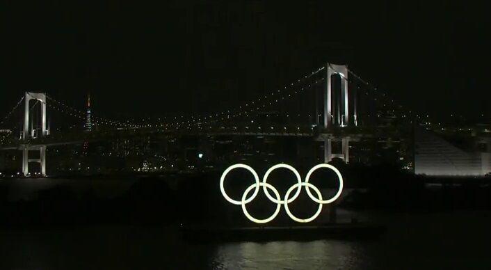 ویدیو  لحظاتی از مراسم افتتاحیه المپیک ۲۰۲۰