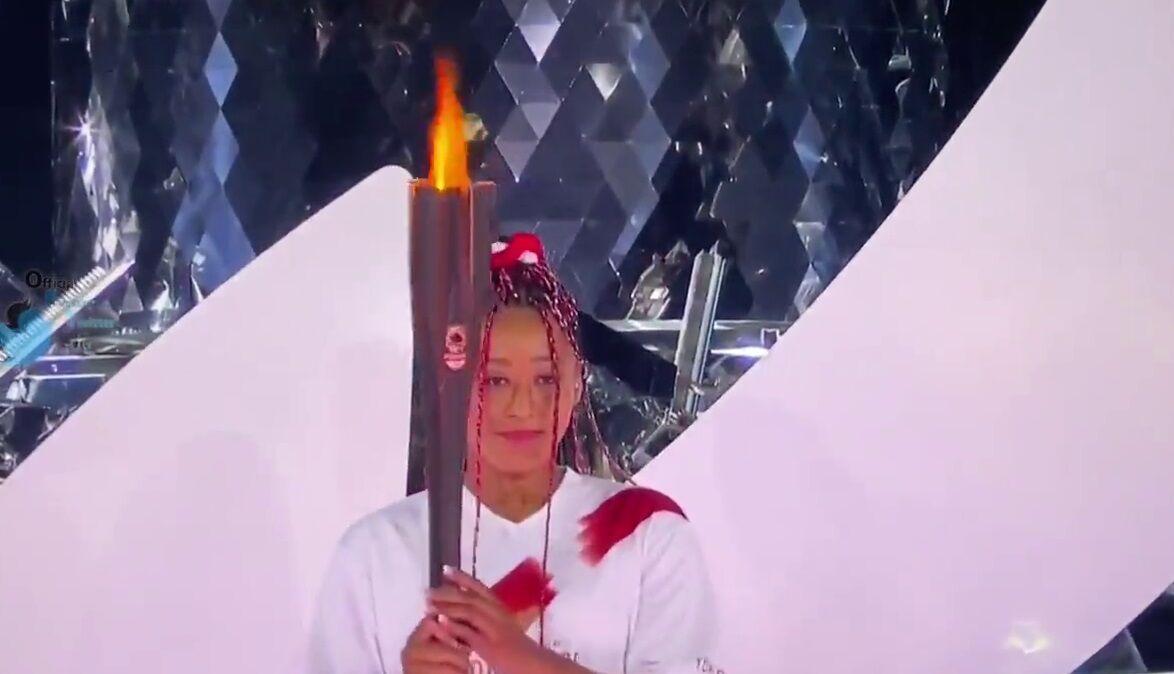 ویدیو| لحظه روشن شدن مشعل المپیک توکیو