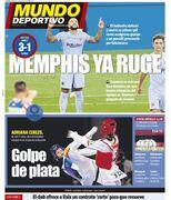 روزنامه موندو  ممفیس میغرد