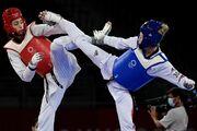 کیمیا علیزاده قهرمان دو دوره المپیک را شکست داد