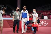حسینی شانس مجدد کسب مدال را هم از دست داد