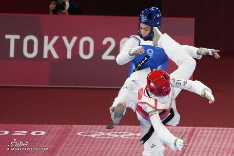 ناهید کیانی - کیمیا علیزاده (المپیک 2020)