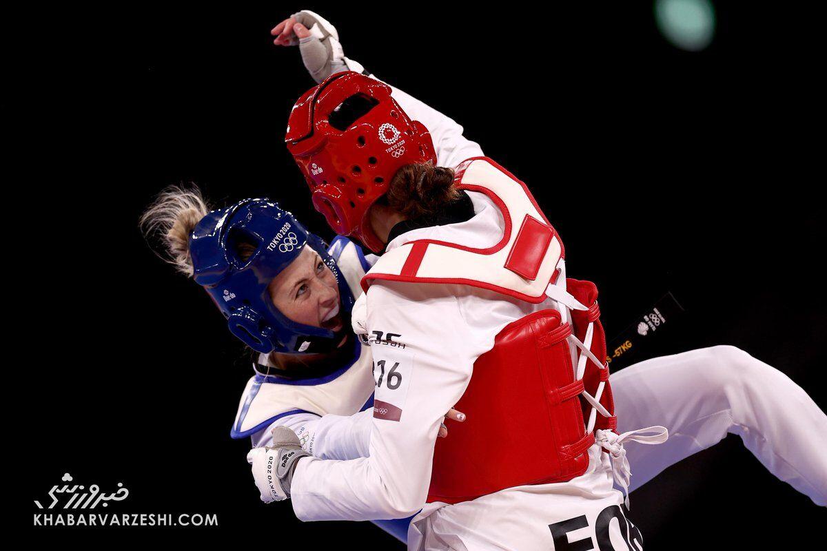 کیمیا علیزاده - جید جونز (المپیک ۲۰۲۰)