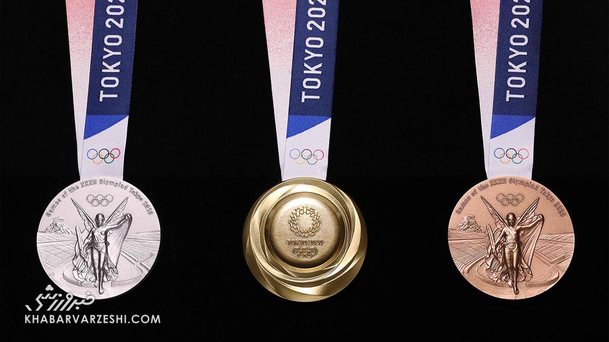جزئیاتی از مدالهای المپیک ۲۰۲۰ توکیو / یک مدال طلای المپیک چقدر میارزد؟