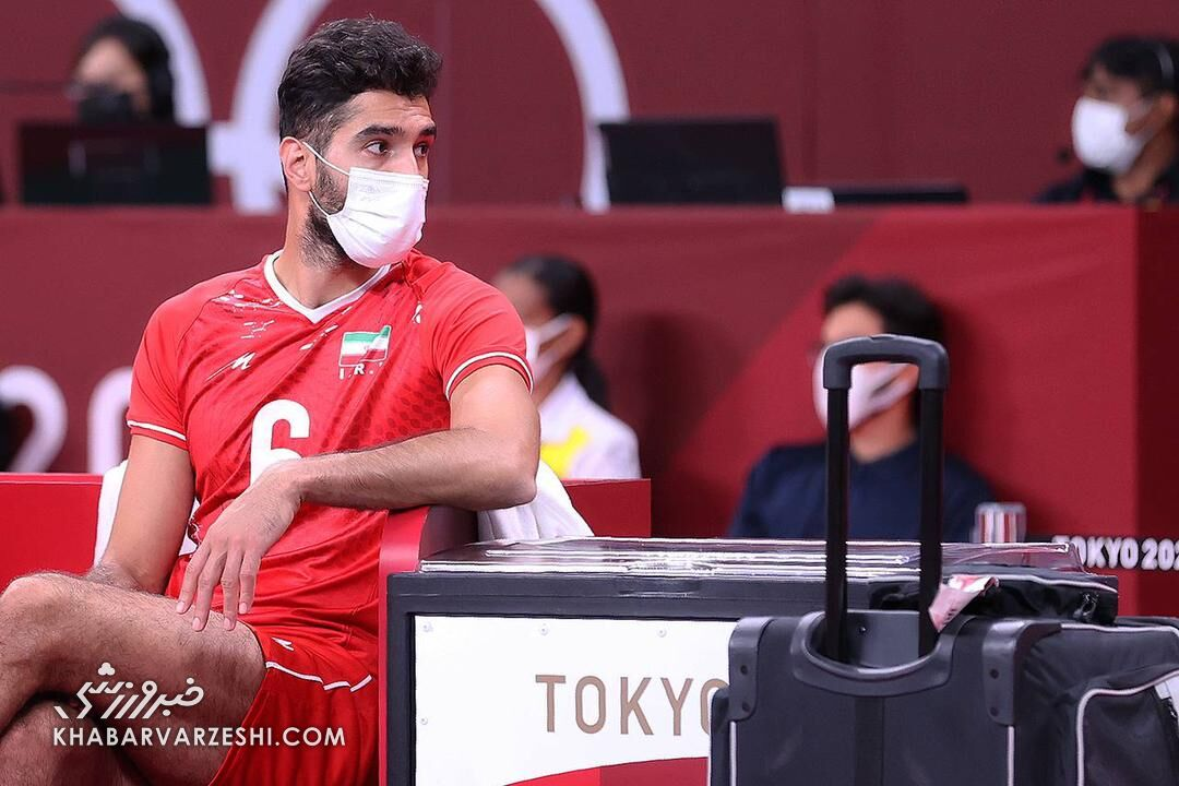 ستاره والیبال ایران به بازی با کانادا میرسد