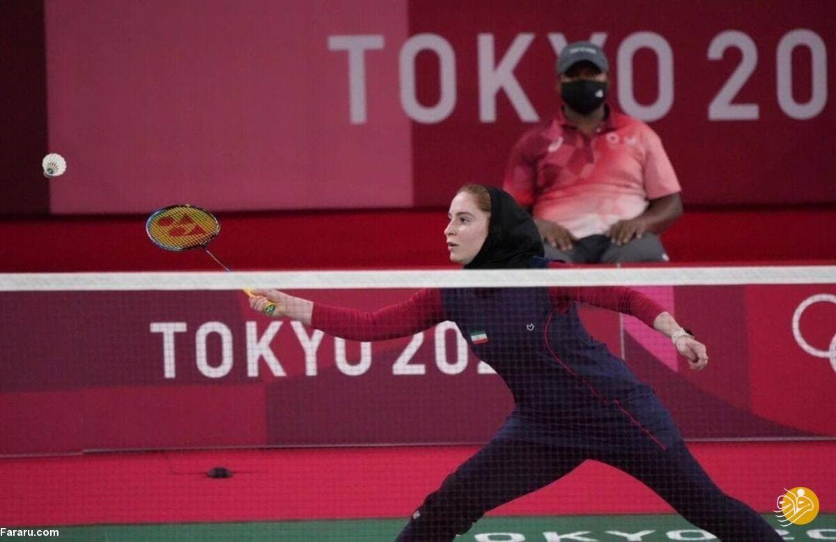 ویدیو| پیروزی ثریا اقایی مقابل حریف مالدیوی در مسابقات بدمینتون المپیک