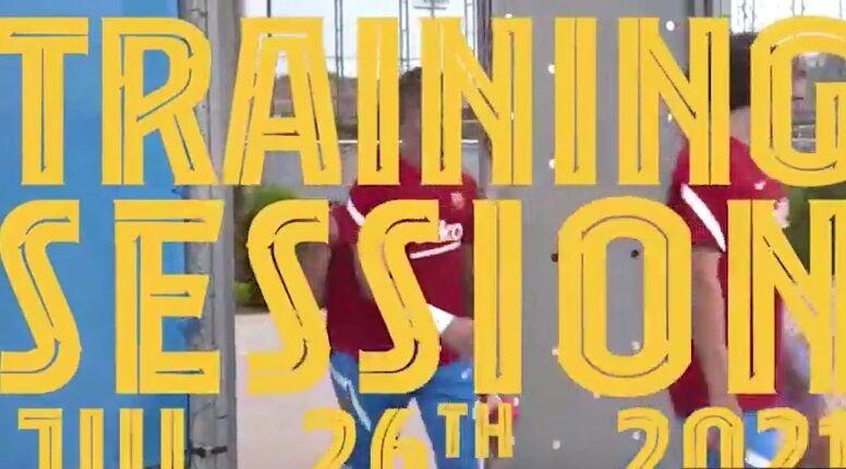 ویدیو| تمرینات پیش فصل بازیکنان بارسلونا