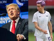 ادبیات عجیب دونالد ترامپ پس از باخت تیم فوتبال زنان آمریکا!