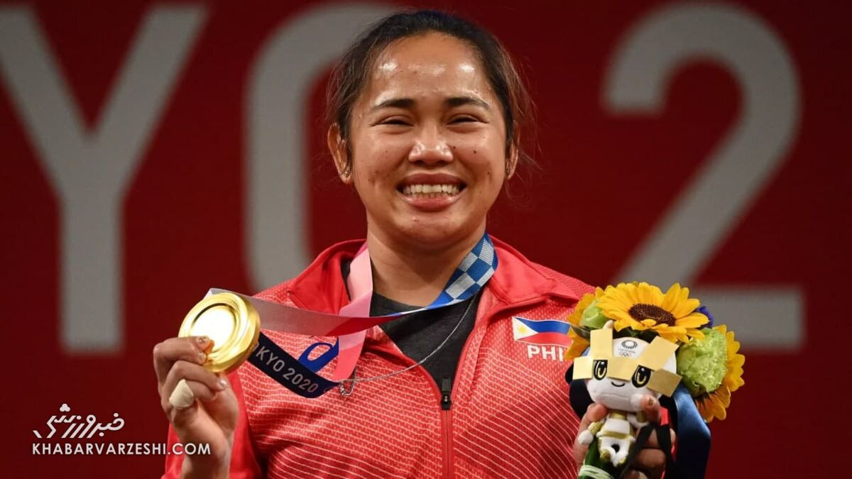 اتفاقی بزرگ برای فیلیپین در المپیک/ تاریخسازی یک زن در توکیو